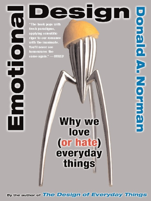 Cover of Emotional Design