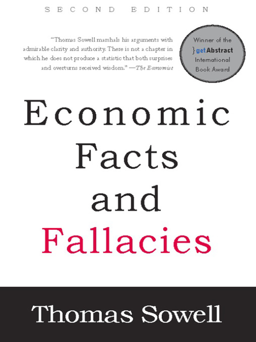 Title details for Economic Facts and Fallacies by Thomas Sowell - Wait list