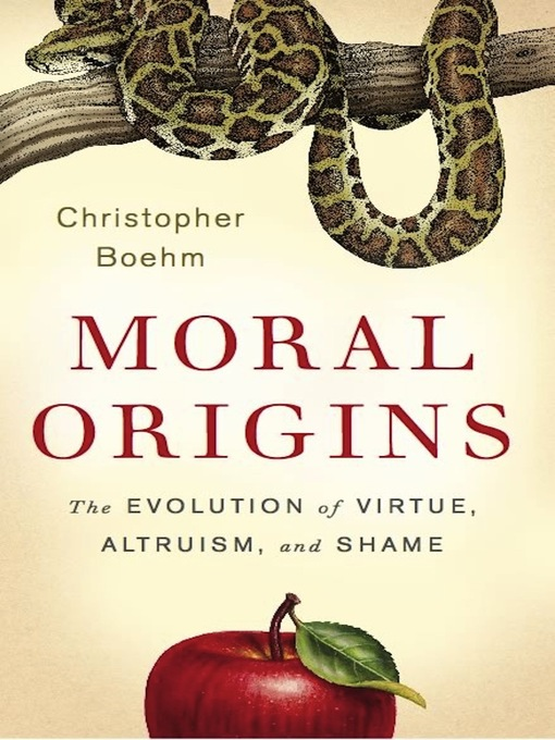 Cover of Moral Origins