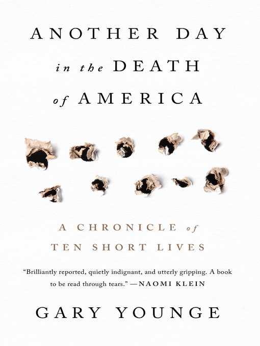 Title details for Another Day in the Death of America by Gary Younge - Wait list