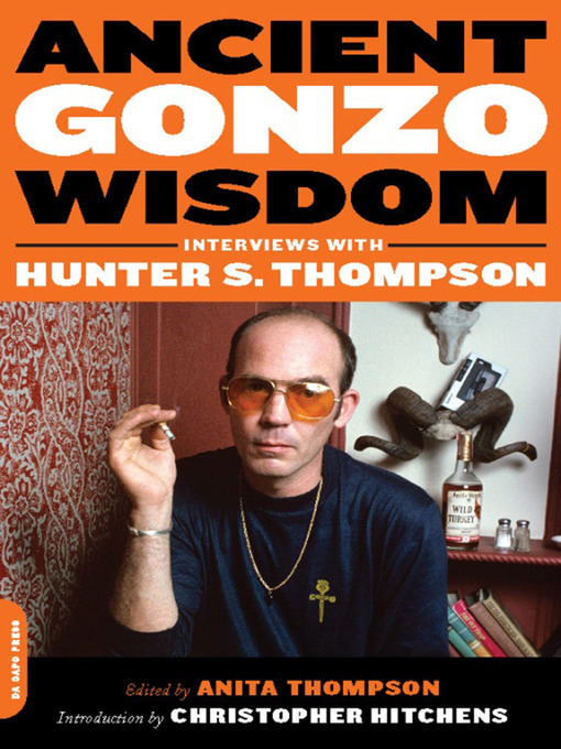 Title details for Ancient Gonzo Wisdom by Anita Thompson - Available