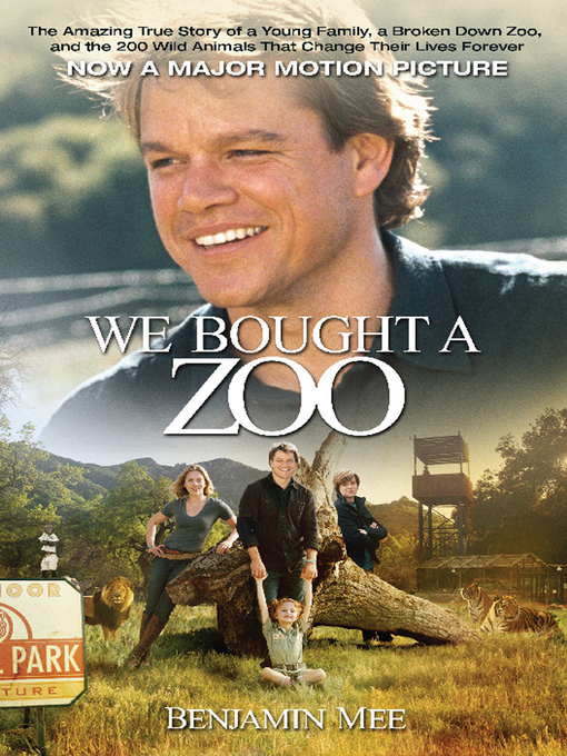 Title details for We Bought a Zoo by Benjamin Mee - Wait list