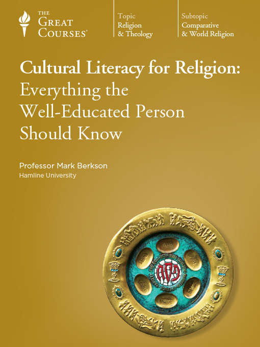 Cover of Cultural Literacy for Religion