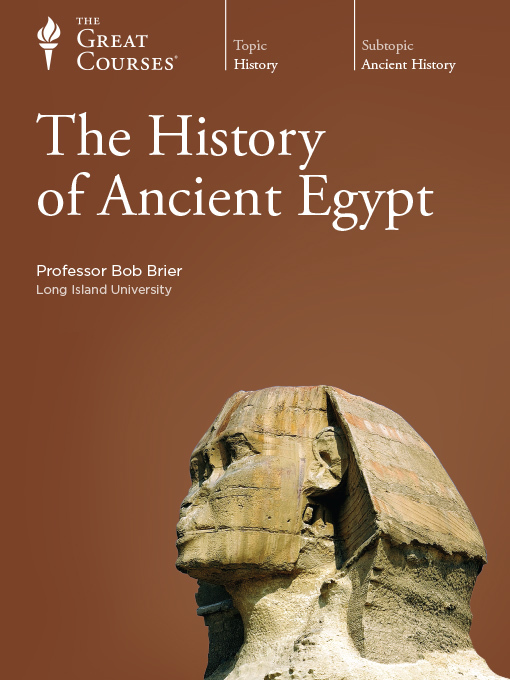 Title details for The History of Ancient Egypt by Bob Brier - Wait list