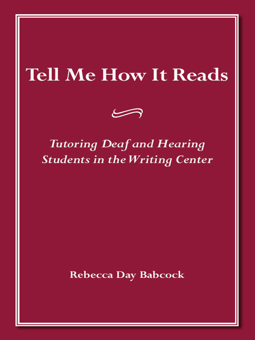 Title details for Tell Me How It Reads by Rebecca Day Babcock - Available