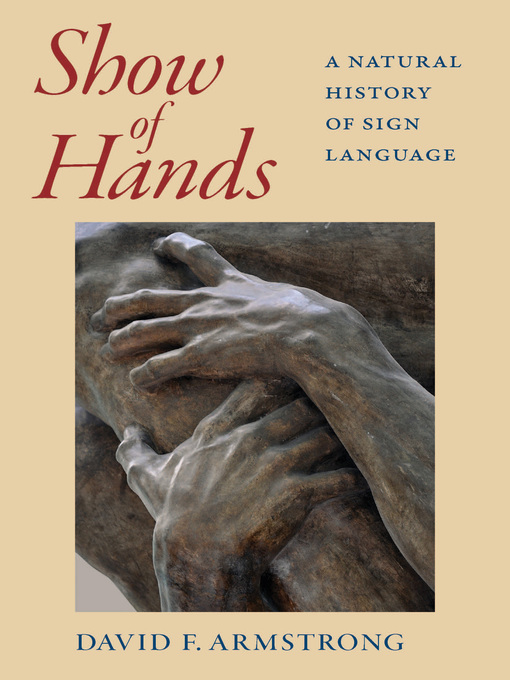 Title details for Show of Hands by David F. Armstrong - Available
