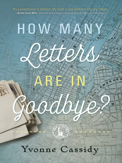 Title details for How Many Letters Are In Goodbye? by Yvonne Cassidy - Available