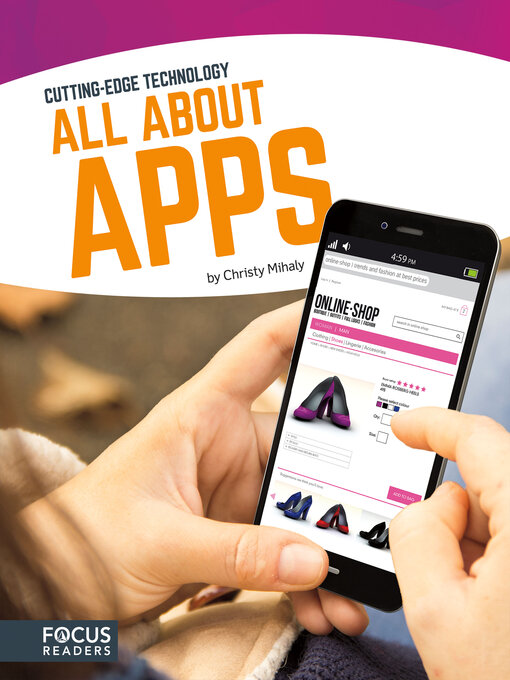 Title details for All About Apps by Christy Mihaly - Available