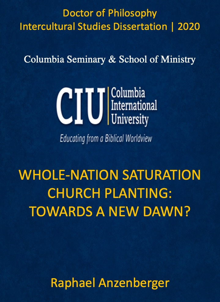 Title details for Whole-Nation Saturation Church Planting: Towards a New Dawn? by Raphael Anzenberger - Available