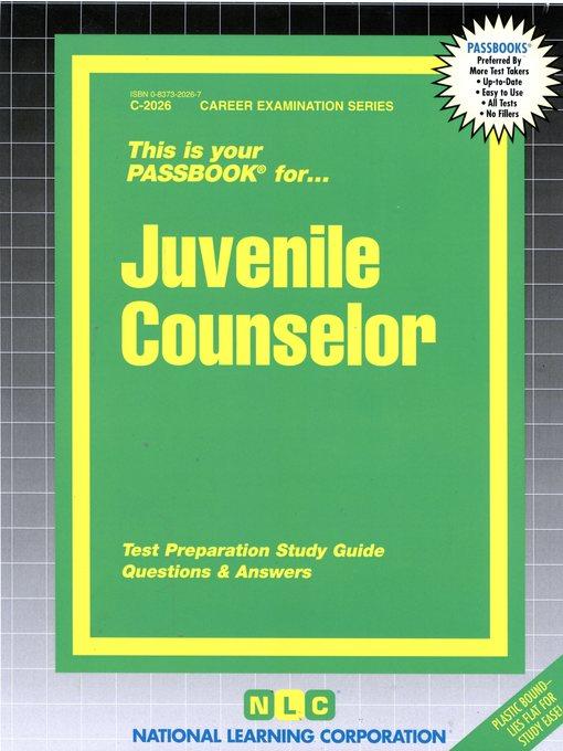 Juvenile Counselor - OK Virtual Library - OverDrive