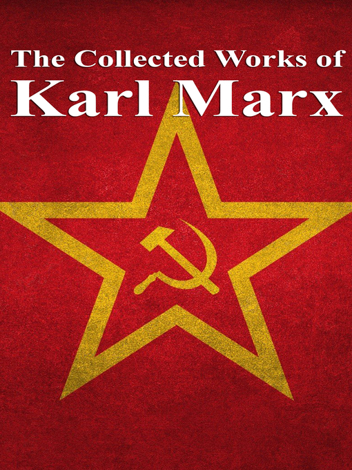 Cover of The Collected Works of Karl Marx