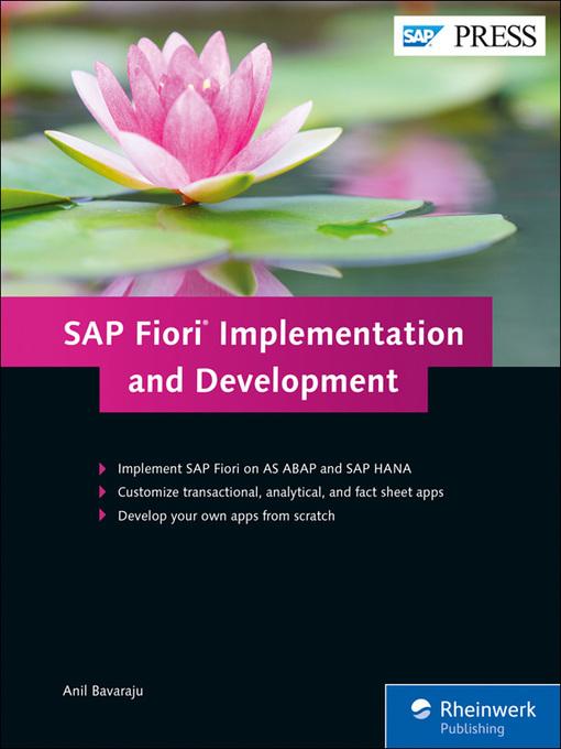 Fiori 66.Sap Fiori Implementation And Development Overdrive Irc Digital