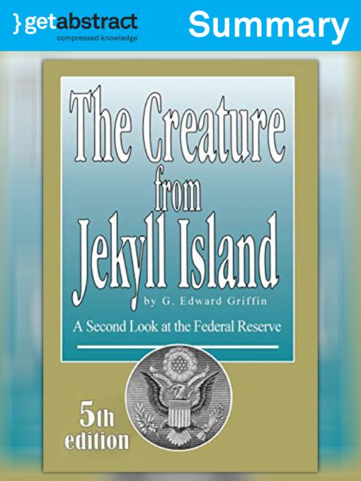 The Creature From Jekyll Island Epub