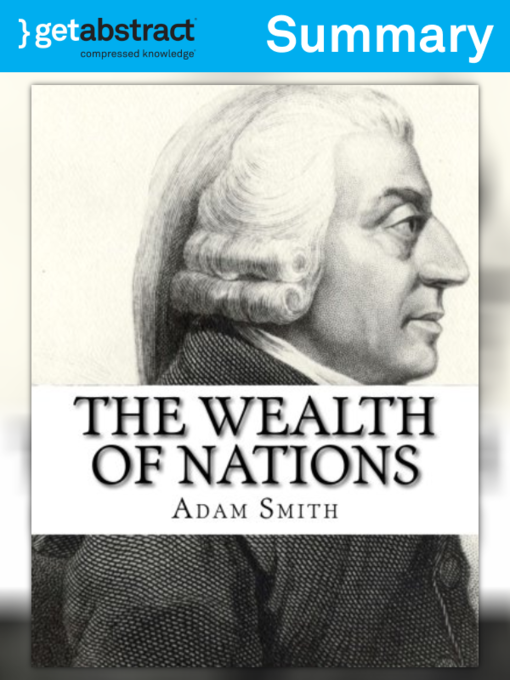 adam smith wealth of nations summary