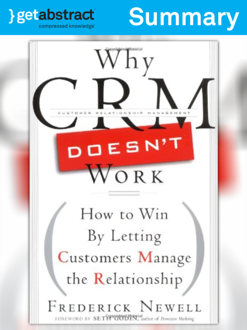 Why CRM Doesn't Work has been added