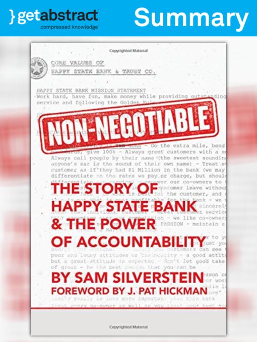 Kids - Non-Negotiable (Summary) - National Library Board