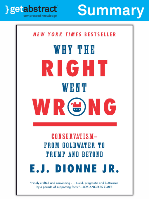 Kids - Why the Right Went Wrong (Summary) - National Library