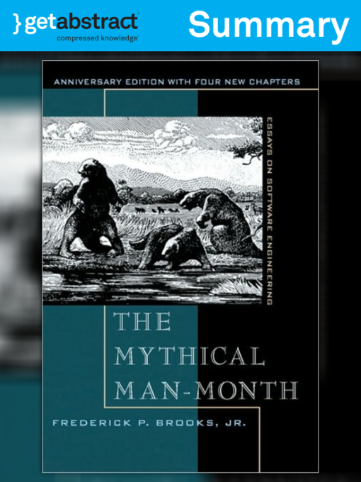 the mythical man-month essays on software engineering by frederick brooks Few books on software project management have been as influential and timeless as the mythical man-month with a blend of software engineering facts and thought-provoking opinions, fred brooks offers insight for anyone managing complex projects these essays draw from his experience as project.