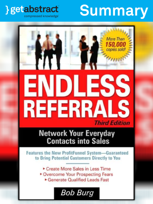 endless referrals bob burg pdf