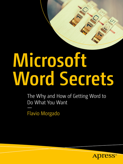 Title details for Microsoft Word Secrets by Flavio Morgado - Available