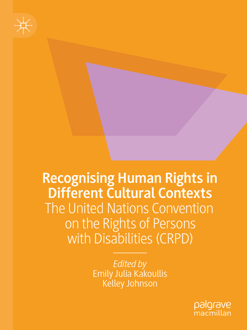 Title details for Recognising Human Rights in Different Cultural Contexts by Emily Julia Kakoullis - Wait list