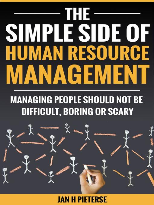 Cover of The Simple Side of Human Resource Management
