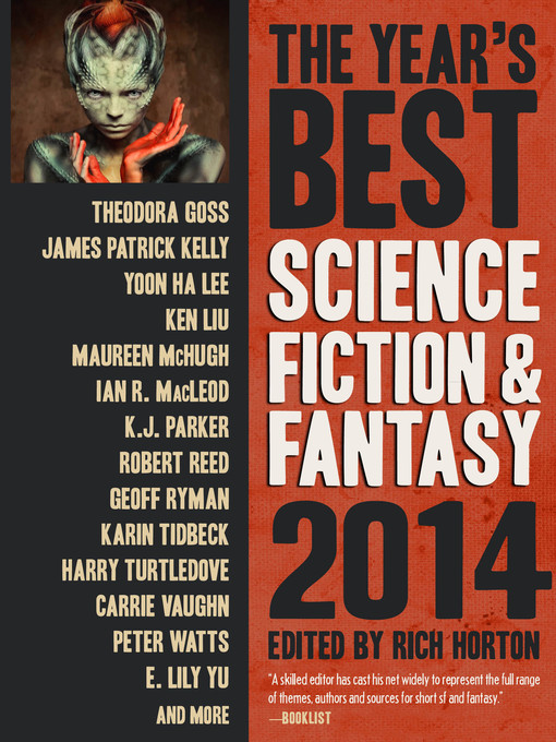 Cover image for The Year's Best Science Fiction & Fantasy