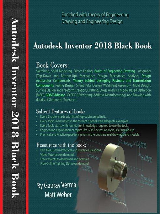 Autodesk Inventor 2018 Black Book - Media On Demand - OverDrive