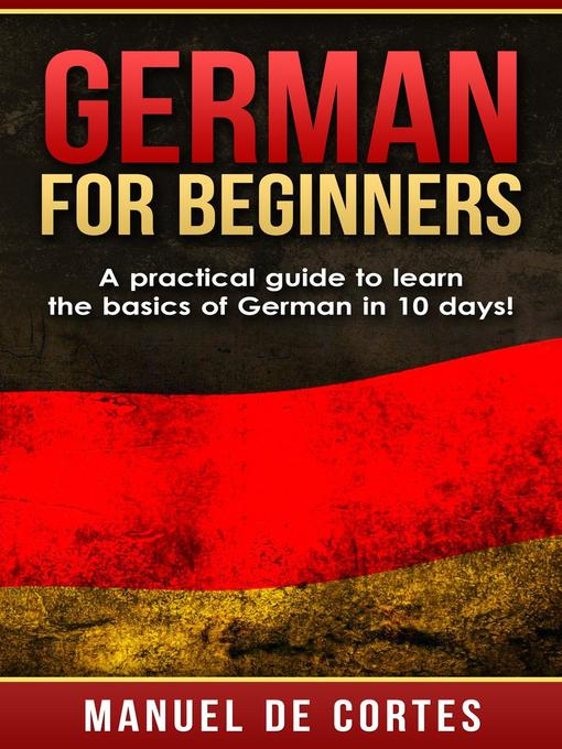Cover of German For Beginners