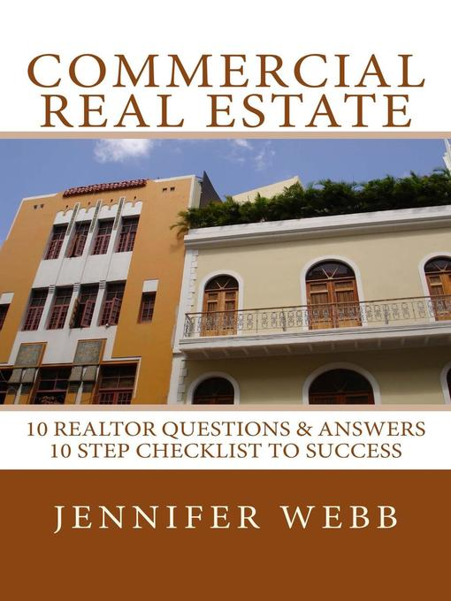 Title details for Commercial Real Estate by Jennifer Webb - Wait list