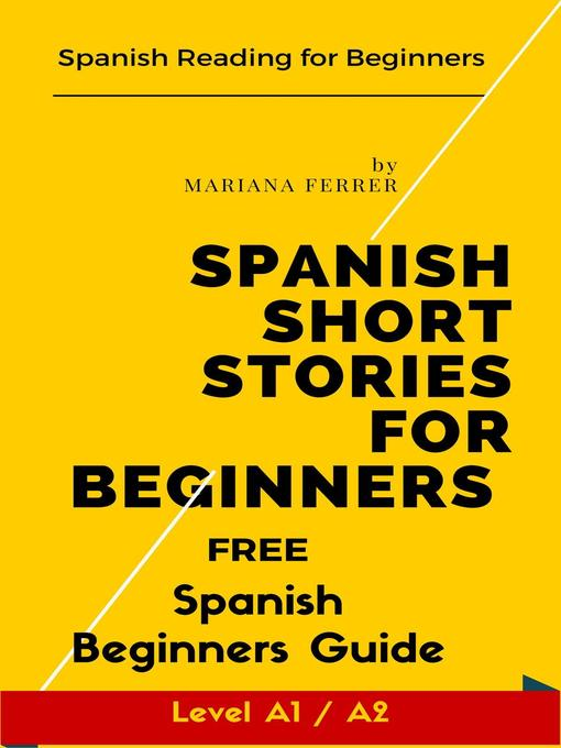 Cover of Spanish Short Stories for Beginners