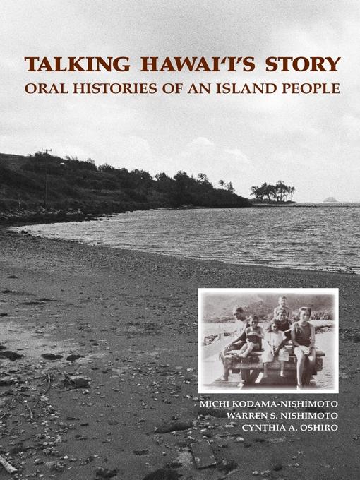 Title details for Talking Hawaii's Story by Michiko Kodama-Nishimoto - Wait list