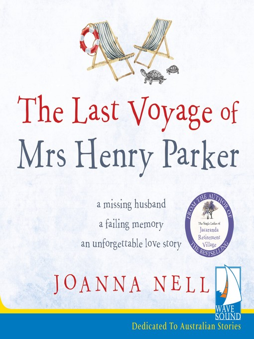 Title details for The Last Voyage of Mrs Henry Parker by Joanna Nell - Available