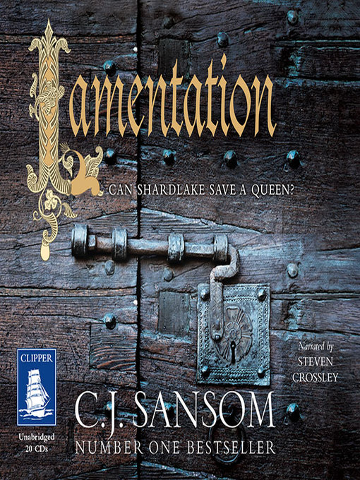 Title details for Lamentation by C.J. Sansom - Wait list