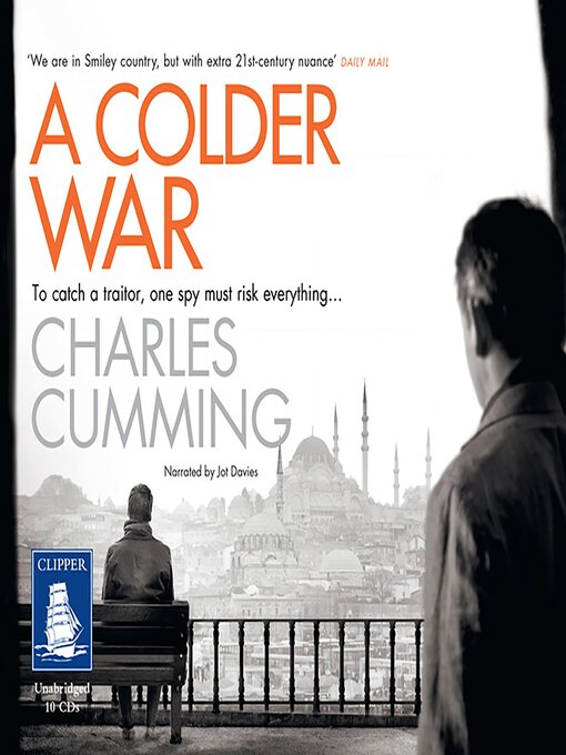 Title details for A Colder War by Charles Cumming - Wait list