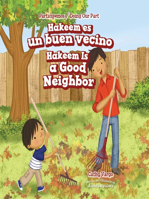 Cover image for Hakeem es un buen vecino / Hakeem Is a Good Neighbor