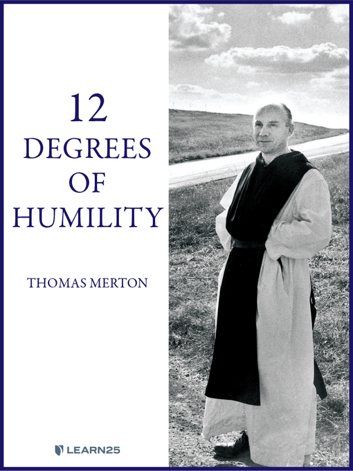 Cover of Thomas Merton on the 12 Degrees of Humility