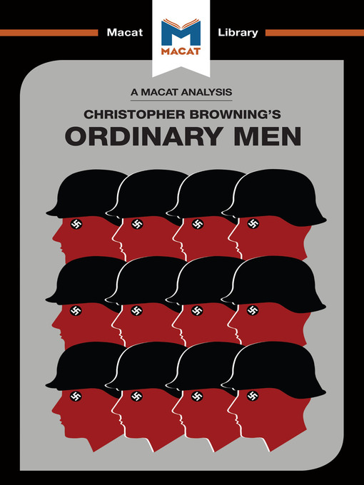 a review of christopher brownings book ordinary men Ordinary men is regarded as seminal in holocaust studies, as micro-history in its own right, and valuable for studying authoritarianism and indoctrination on individuals and collective groups.