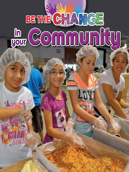 Cover image for book: Be the Change in your Community
