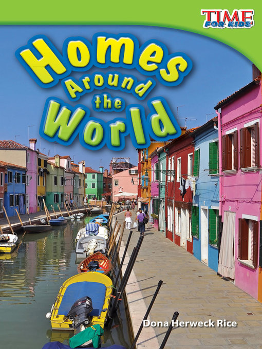 Cover image for book: Homes Around the World