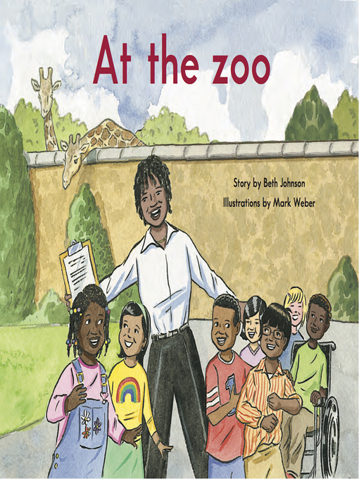 Cover of At the zoo