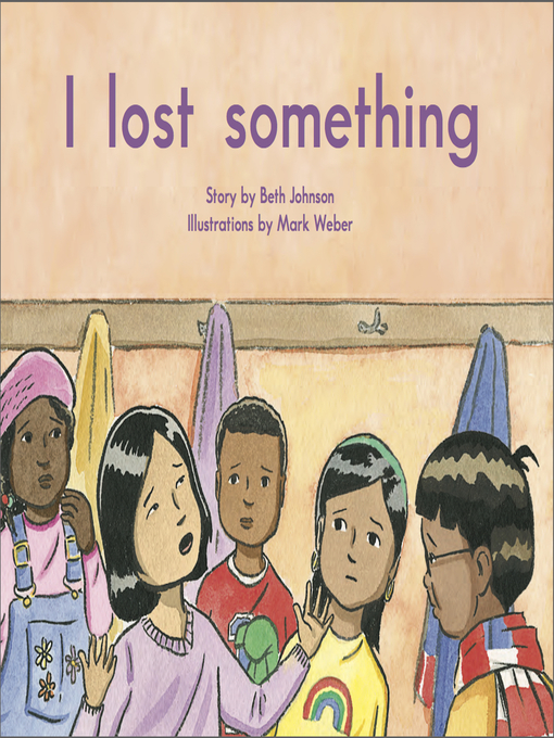 Cover image for I lost something