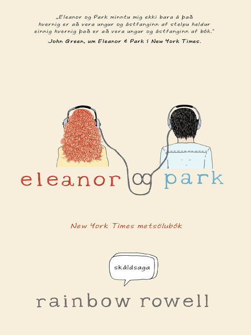 Title details for Eleanor og Park by Rainbor Rowell - Available