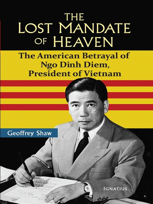 Title details for The Lost Mandate of Heaven by Geoffrey Shaw - Wait list