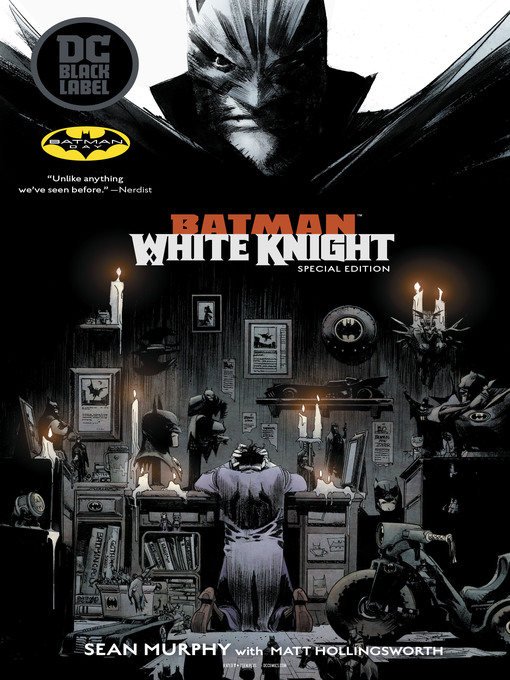 Cover of Batman: White Knight (2018), Issue 1
