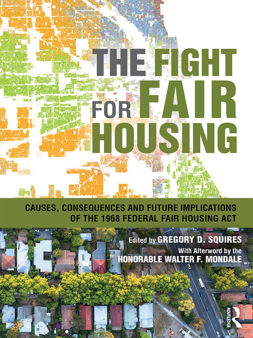 Title details for The Fight for Fair Housing by Gregory D. Squires - Wait list