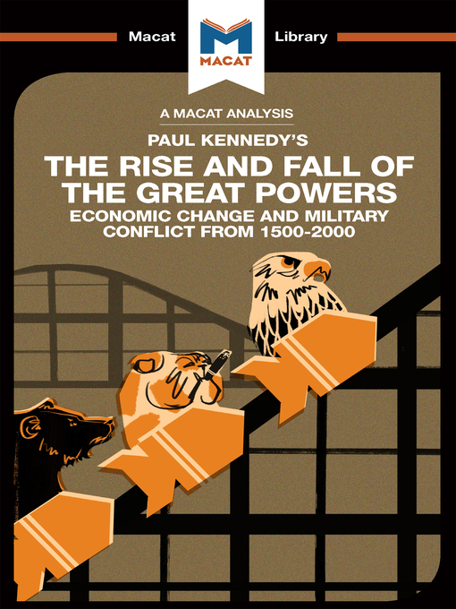 Cover of The Rise and Fall of the Great Powers