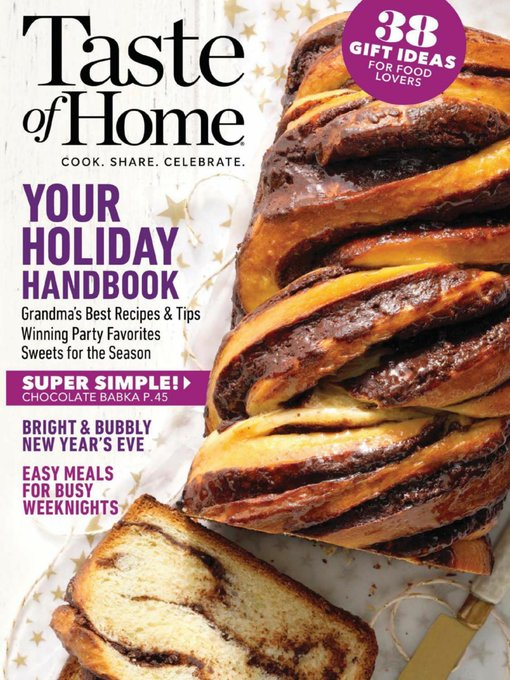 Title details for Taste of Home by Trusted Media Brands, Inc. - Available