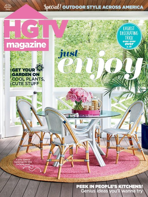 Title details for HGTV by Hearst Magazines - Available