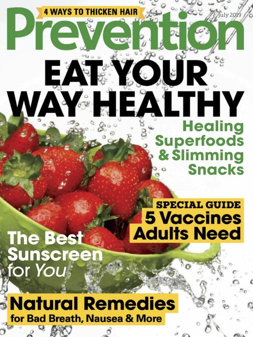 Title details for Prevention by Hearst magazines - Available